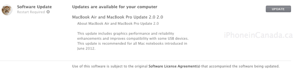 macbook air update 2.0