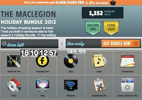 maclegion bundle 2012
