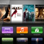 Apple TV user interface