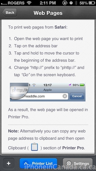 readdle printer pro