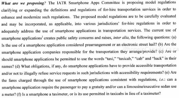 taxi app regulations