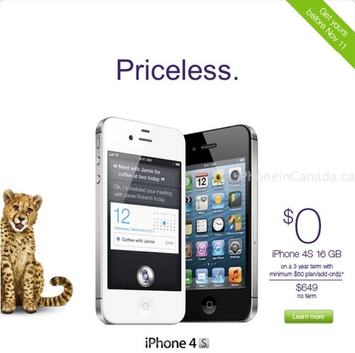 telus iphone 4s