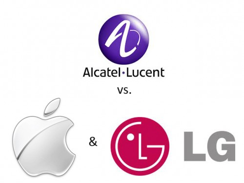 Apple&LG vs Alcatel-Lucent
