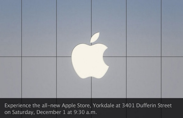 apple store yorkdale mall