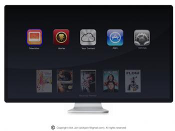 Apple iTV design