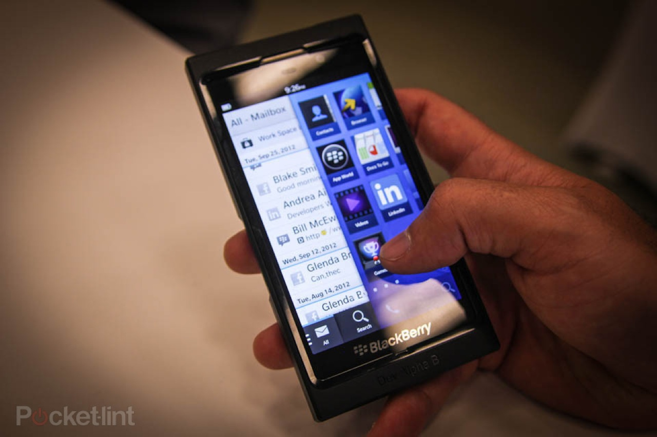 Blackberry 10 alpha dev b preview 0