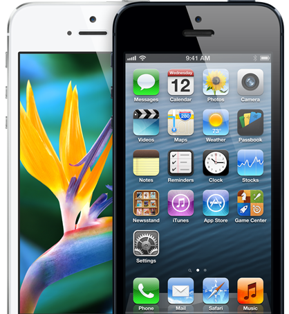 iPhone 5 display