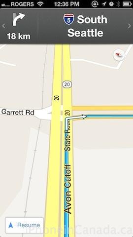 google maps km