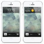 iOS 6 lockscreen