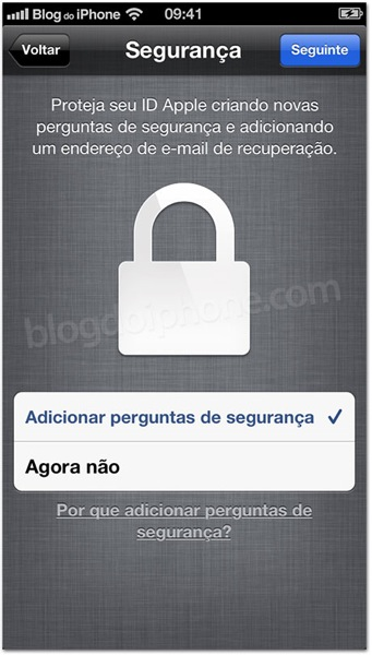 ios 6.1 security questions