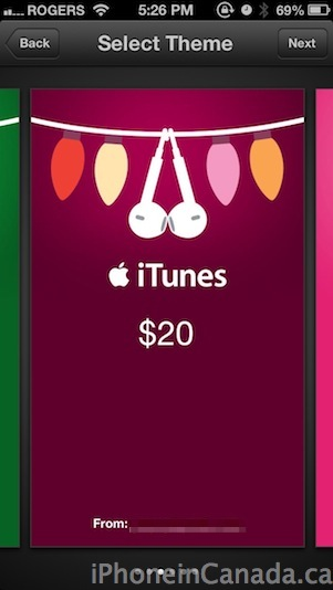itunes gifts5