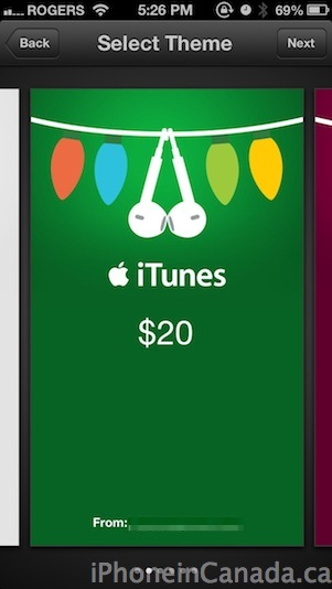 itunes gifts6