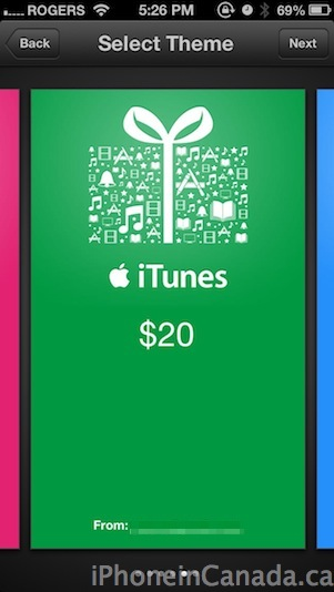 itunes gifts8