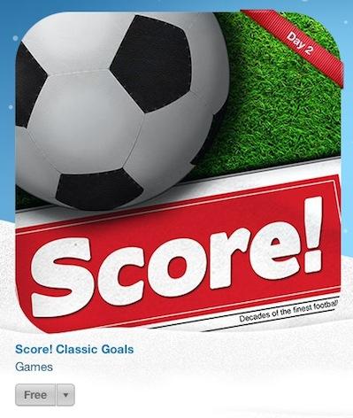 score classic football