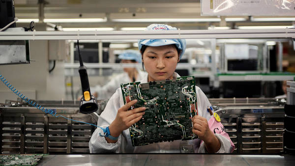Working Conditions Improve Significantly At Foxconn's ...