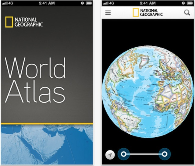 National geographic makes its world atlas ios app free download now download national geographic world atlas for iphone ipod touch and ipad direct link gumiabroncs