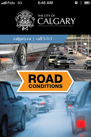 City of Calgary Road Conditions iOS App: Real-Time Info and