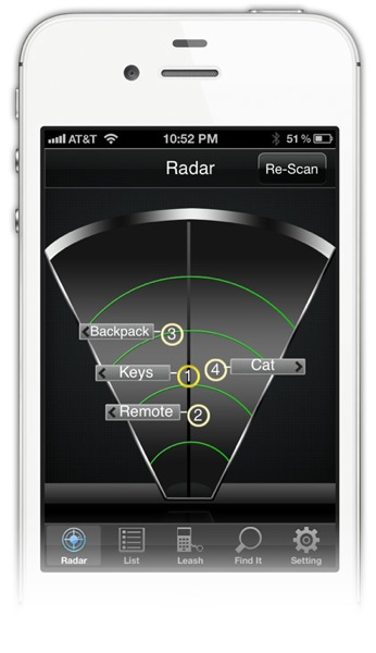Iphone radar