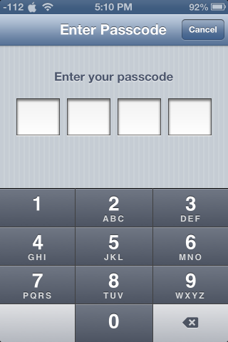 iOS 6 1 Passcode Lock Flaw Lets Anyone Bypass iPhone's