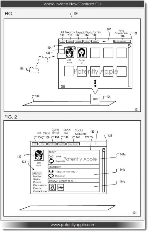 Apple-Contacts-App-GUI