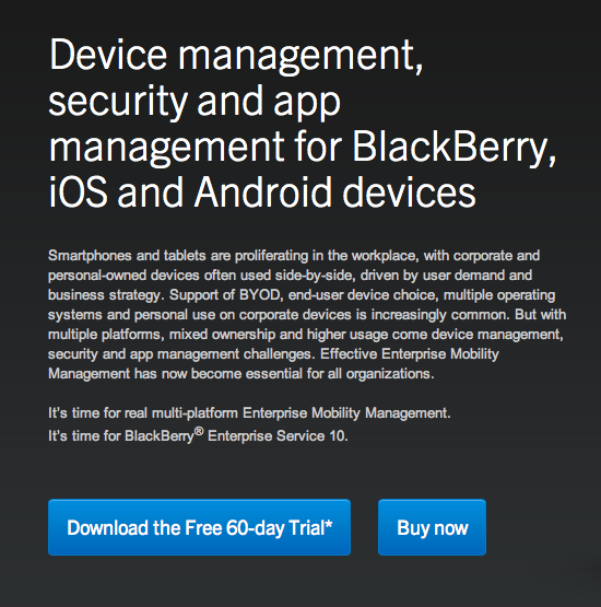 BlackBerry-enterprise-iOS