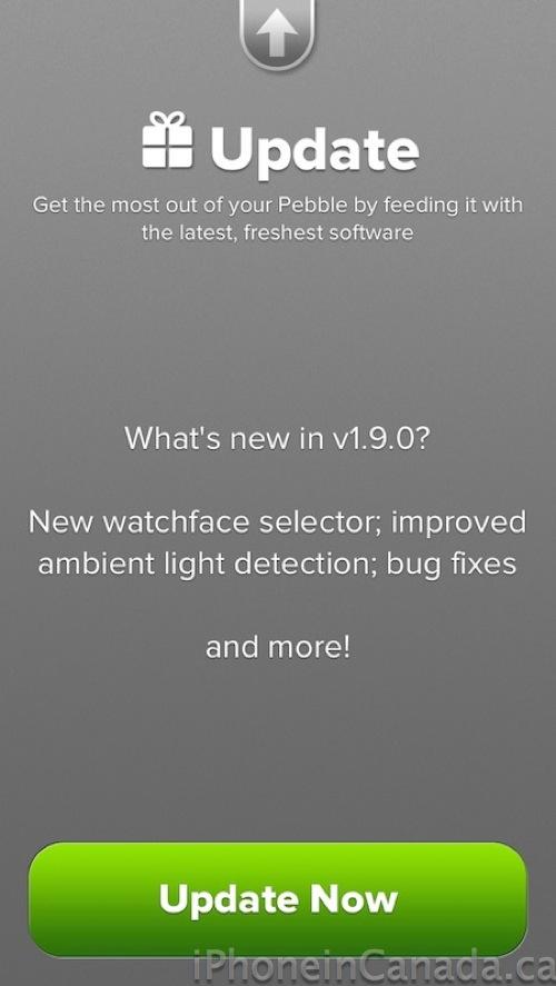 Pebble-firmware-update