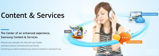 Samsung iTunes store
