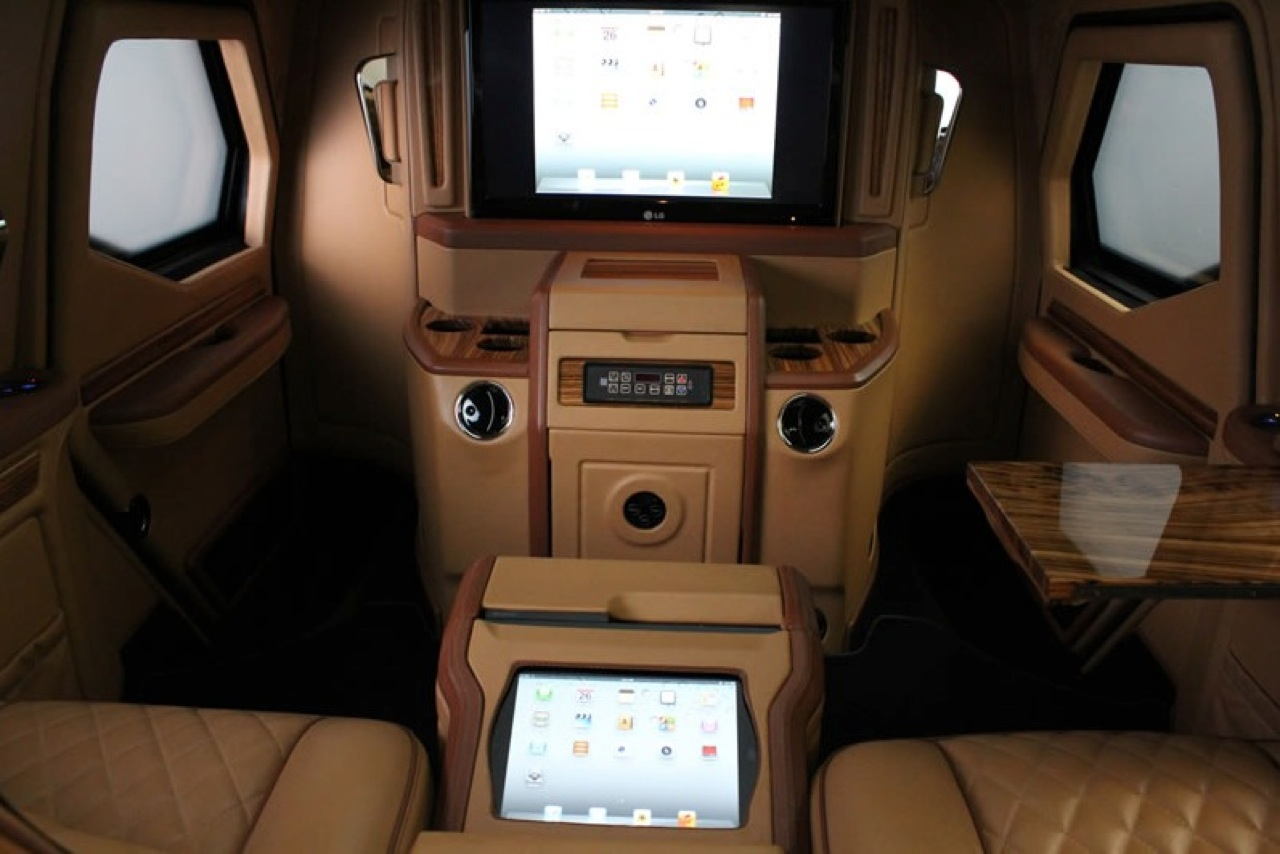 This Canadian Made $629,000 Luxury SUV With iPad Controls Is Awesome