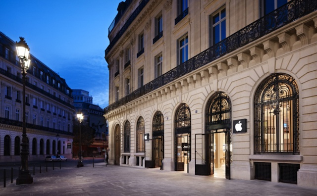 France apple store