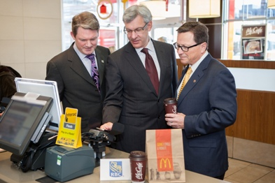 First 'Interac Flash' Debit NFC Payment Completed at McDonald's