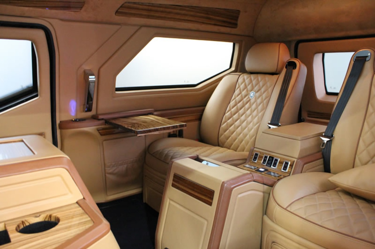 This Canadian Made 629 000 Luxury Suv With Ipad Controls