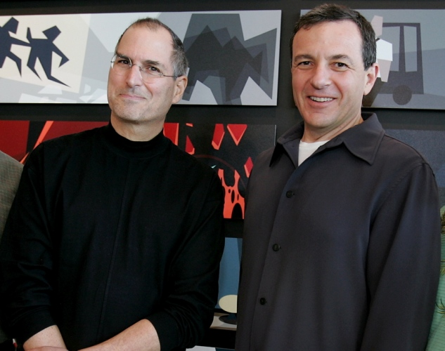 Steve jobs robert iger 2006