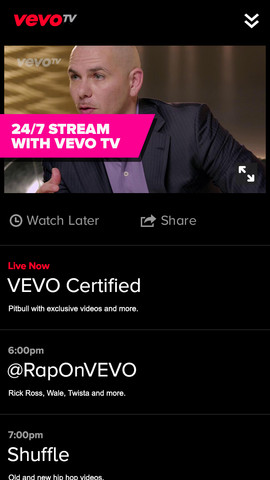 Vevo 24/7 Music App for Apple TV Said to Launch This Week
