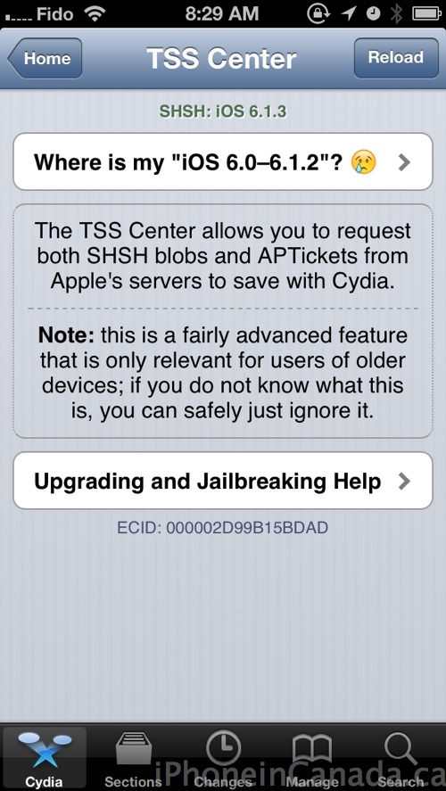 Older iOS 6 SHSH Blobs Saved in Cydia Have Become Unusable | iPhone
