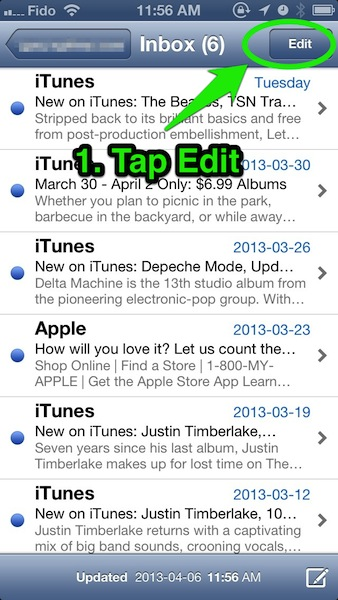 How To: Mark All Emails as Read in Mail on iPhone in Seconds [PICS]