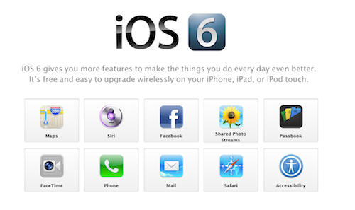 iOS6-apple
