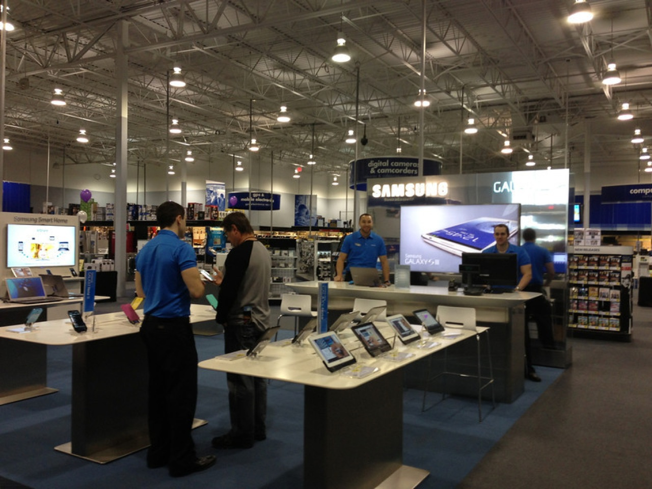 how to ship to best buy store