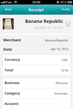 I've never been in a Banana Republic, but I'm guessing they don't sell groceries