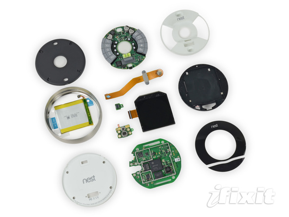 iFixit Teardown of the Nest Learning Thermostat (2nd Gen
