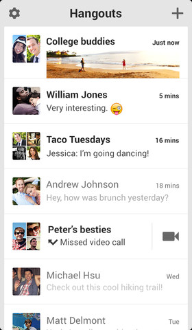 Google's New Hangouts iOS App Now Available for Download | iPhone in