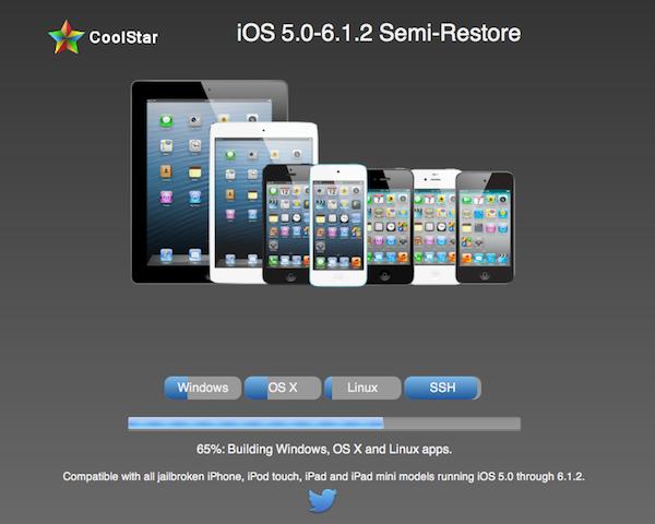 Semi-restore-jailbreak-iOS