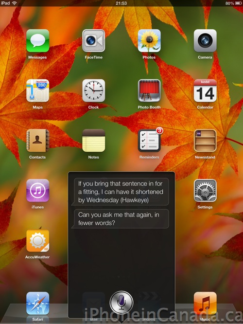 Siri Quote Classy Siri Will Now Ask You To Shorten Your Lengthy Questions [PIC