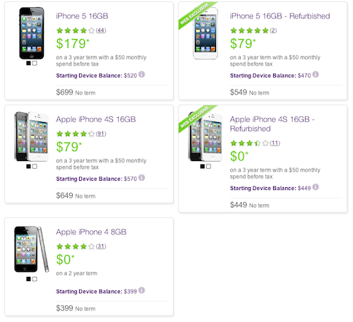 Telus iPhone offers