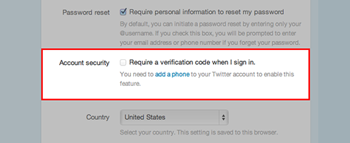 Account security cropped