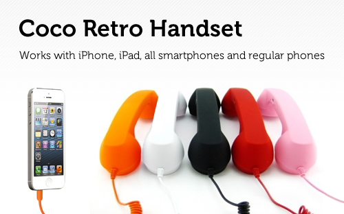 This Retro Handset Takes your iPhone Back in Time [Deals]