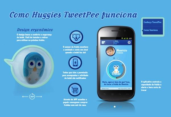 Huggies tweetpee