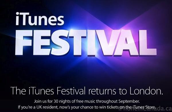 itunes festival london