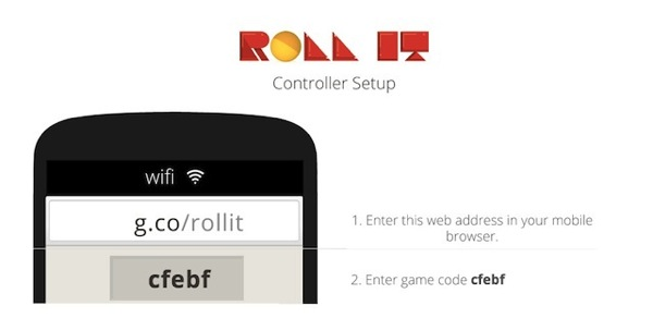 Chrome Experiment 'Roll It' Turns iPhone into Skee Ball Game Remote