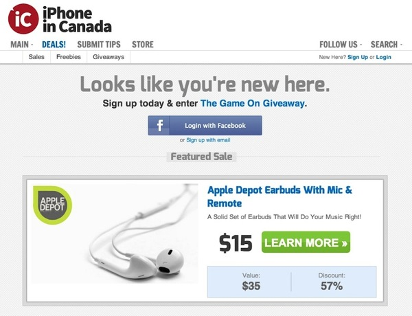 Introducing Savings From the iPhoneinCanada.ca Deals Store