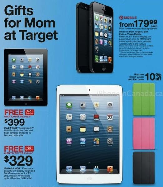 Target Canada: Buy An IPad Mini, Get A $35 Gift Card